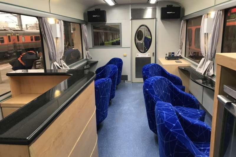 20190221-台鐵觀光列車大升級。(台鐵提供)