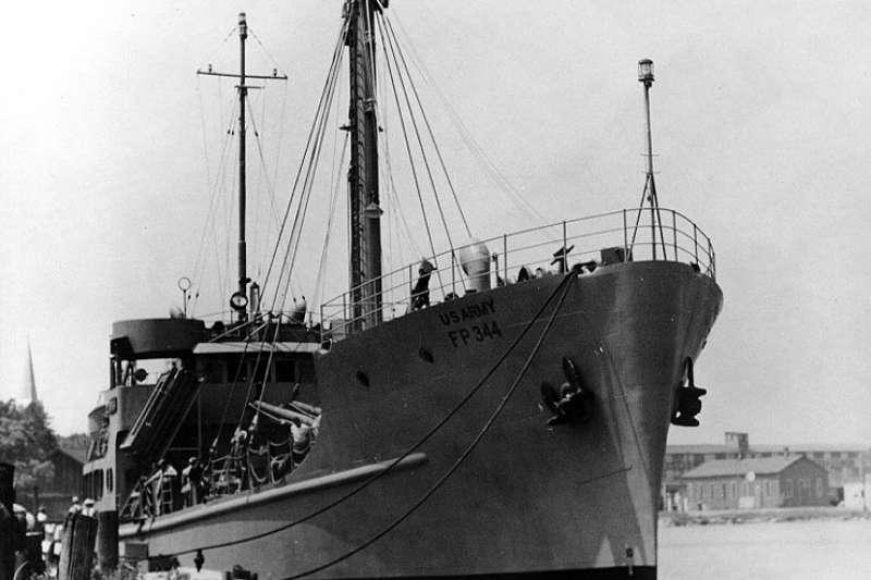 普韋布洛號通用環境研究艦(USS Pueblo AGER-2)。(wikipedia/public domain)