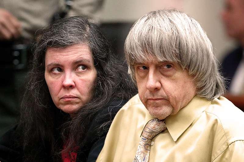 20190223-SMG0035-美國加州恐怖虐童夫妻大衛.特賓(David Turpin)與路易絲.特賓(Louise Turpin)法庭受審(AP)