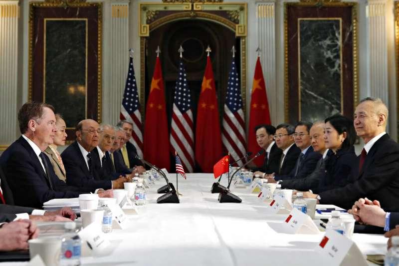 20190221美國與中國經貿代表進行第7輪貿易磋商。