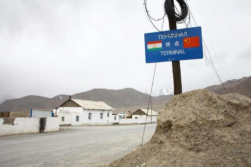 中國與塔吉克邊界(翻攝網路)