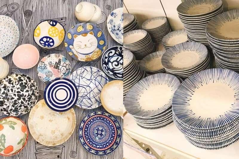 你也是碗盤控嗎?3 家人氣的雜貨選品店,保證讓你買到剁手也甘願。(圖/僑俐瓷器有限公司@facebook)