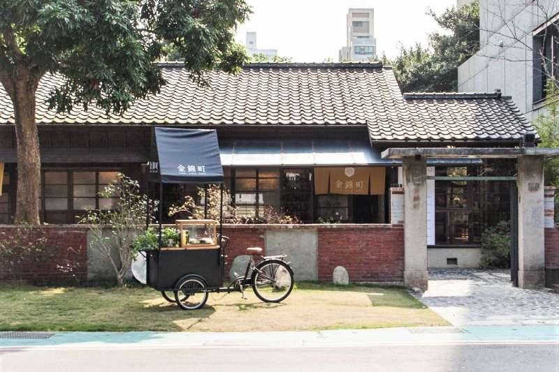 「金錦町」前身是日本公務員宿舍,經過曾修復台南林百貨、安平樹屋、藍晒圖的團隊修復後,現在是文化歷史與現代美學兼具的甜點店。(圖/女子學提供)