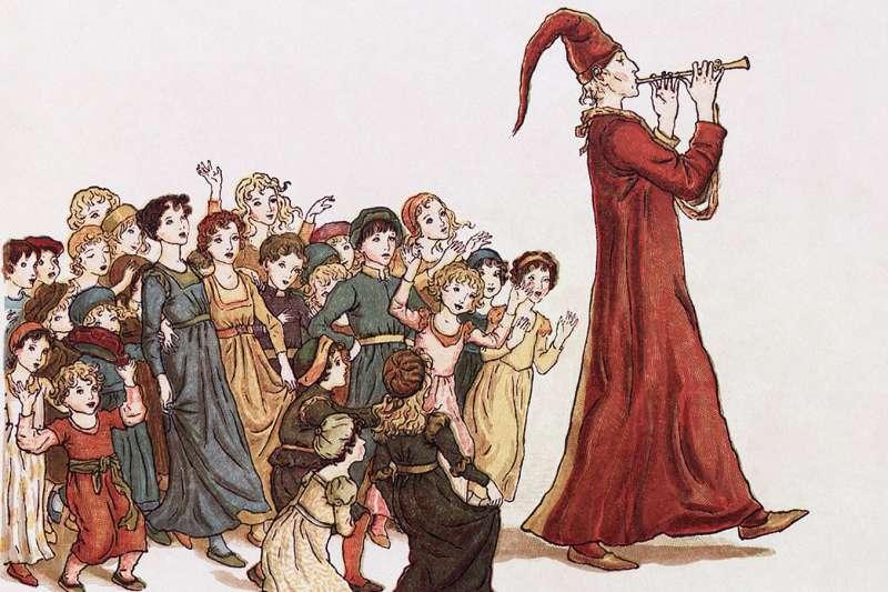《花衣魔笛手》的童話經過多次改編、眾說紛紜,但「哈梅恩市在1284年6月28日發生過成人及兒童大量失蹤或死亡的事件」是可以確定的。(圖/維基百科)