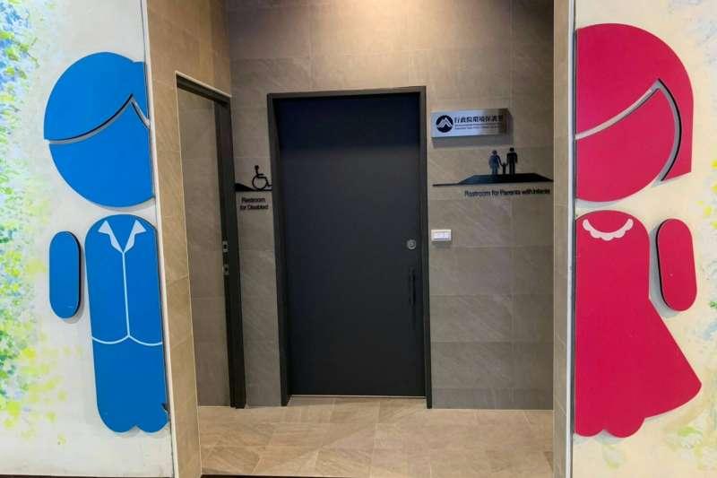 在國內女性員警人數大幅攀升的情況下,警察機構內女廁數量的配置,也是門大學問;示意圖,非新聞當事個案。(資料照,台中市政府提供)