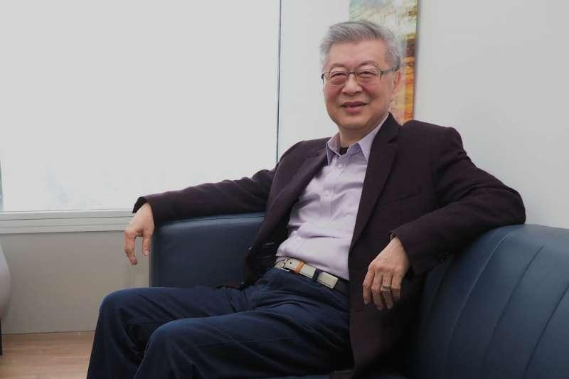 陳冲說:「台灣目前的稅制,有人繳了不該繳的稅,有的人該付的稅卻沒付,納稅人要自覺。」(林瑞慶攝)