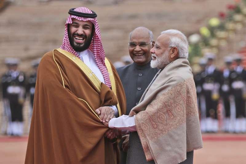 喀什米爾衝突:沙烏地阿拉伯王儲穆罕默德訪問印度,印度才延後轟炸巴基斯坦境內恐怖分子ˊ據點行動(AP)