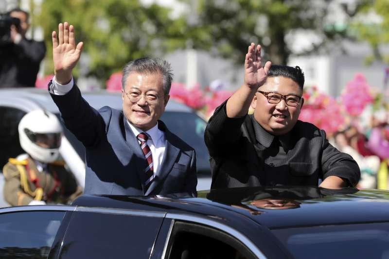 河內川金會對南韓而言,是促使北韓具體無核化的絕佳機會。(AP)