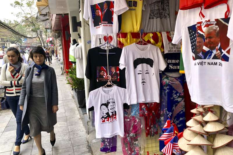 筆者認為,越南是為自己創造有利條件的高手,在貿易戰進行期間捕捉最大利益。圖為越南首都河內。(資料照,美聯社)
