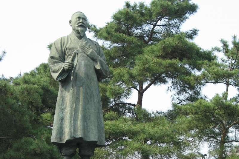 南韓三一運動領導人孫秉熙銅像(Gaël Chardon@Wikipedia / CC BY-SA 2.0)