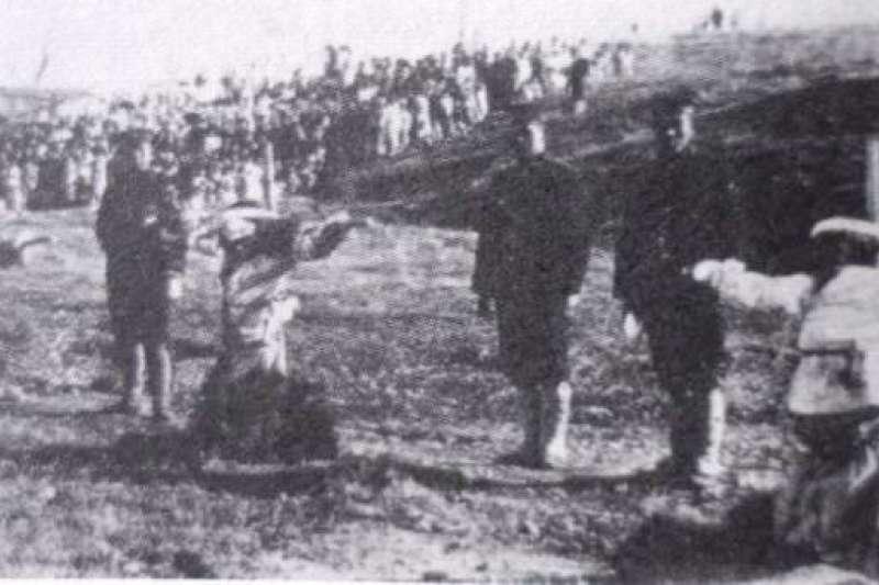 三一運動中被日本人處死的韓國志士(Wikipedia / Public Domain)