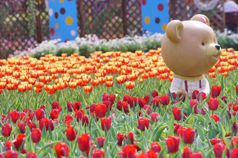 士林官邸鬱金香展出時間從2月21日至3月3日,開展短短6日已經吸引超過14萬參觀人次,是連假出遊的好選擇。(取自台北市政府網站)