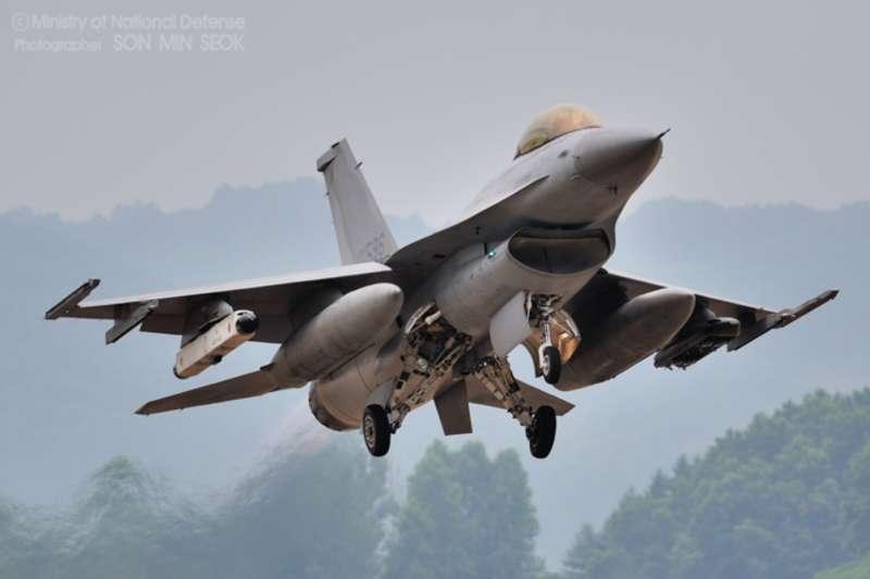 南韓空軍的KF-16。(南韓國防部官網)