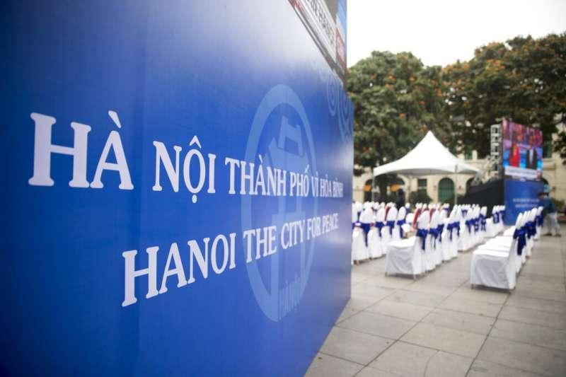 河內川金會27日、28日正式登場,朝鮮半島乃至於東北亞的和平皆繫於此。(美聯社)