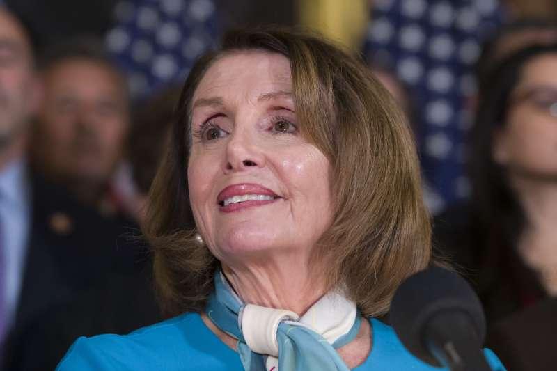 國家緊急狀態:民主黨聯邦眾議院議長裴洛西(AP)