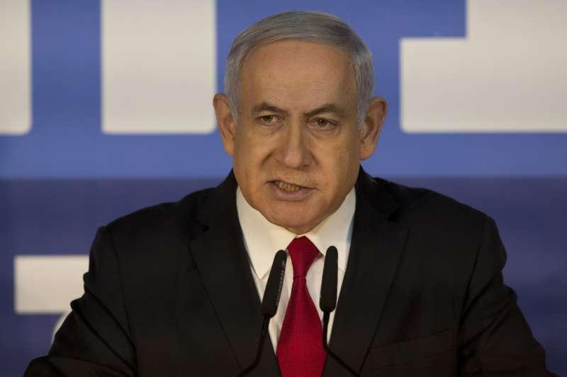 以色列總理納坦雅胡可能成為以國史上首位遭到起訴的現任總理(美聯社)