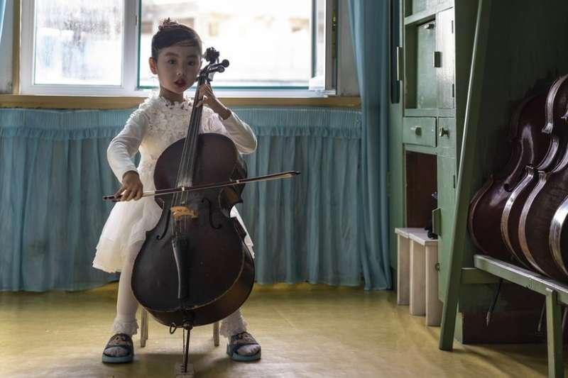 北韓兒童(BBC)