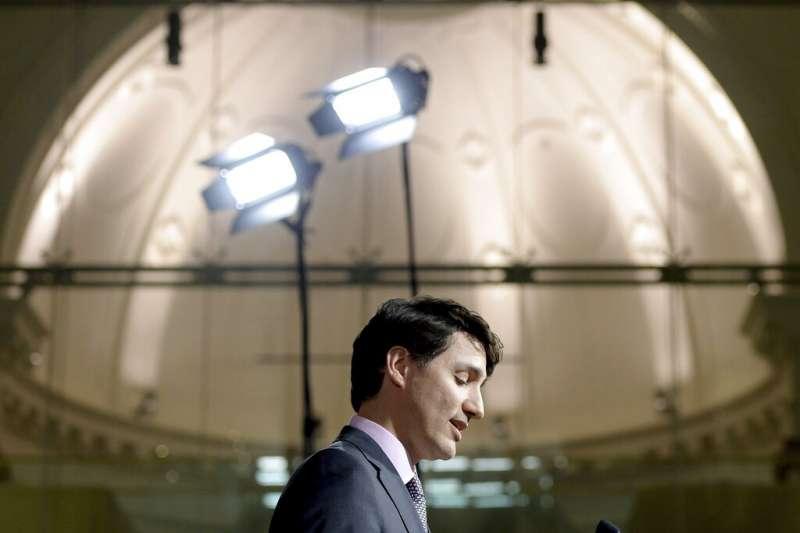 20190227加拿大前司法部長王州迪指控加拿大總理杜魯道干預司法。(AP)