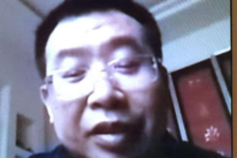 中國維權律師江天勇(Twitter)