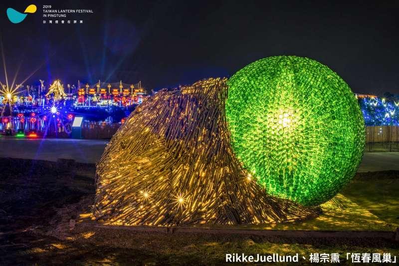 今年由屏東舉辦的台灣燈會廣受好評,現在還紅到國外去了,受邀到丹麥、日本、馬來西亞繼續發光。(圖/潘孟安臉書)
