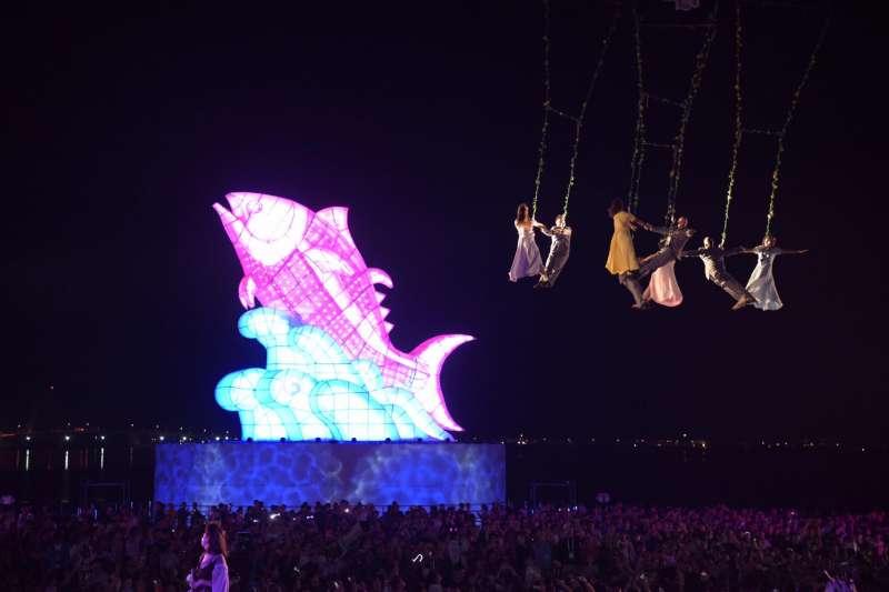 在屏東舉辦的台灣燈會,自2月24日開幕來,總入園人數達到1187萬人次。(資料照,取自潘孟安臉書)