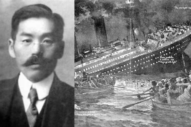 他是鐵達尼號上唯一的日本乘客、也是唯一的日本倖存者,他幸運逃過死劫,沒想到回國之後,卻慘遭全日本民眾的羞辱謾罵。究竟其中有什麼不為人知的內情?(圖/維基百科)