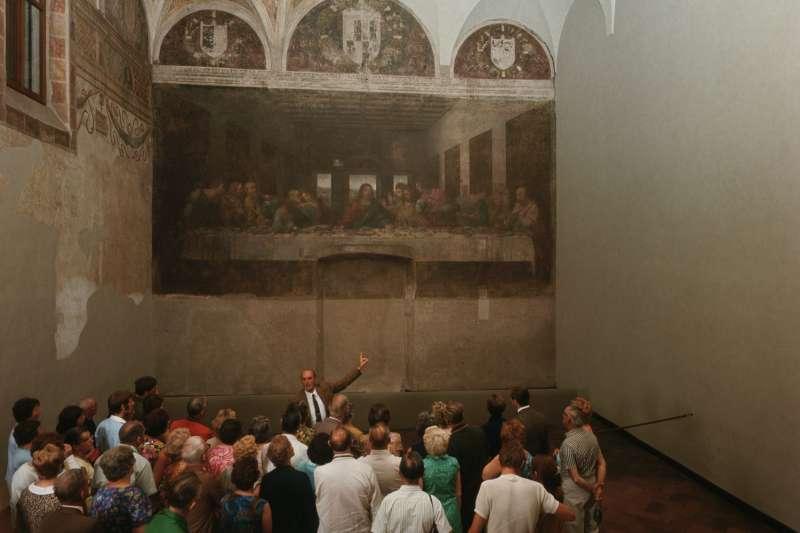 達文西有名的畫作《最後的晚餐》。(圖/商周提供)