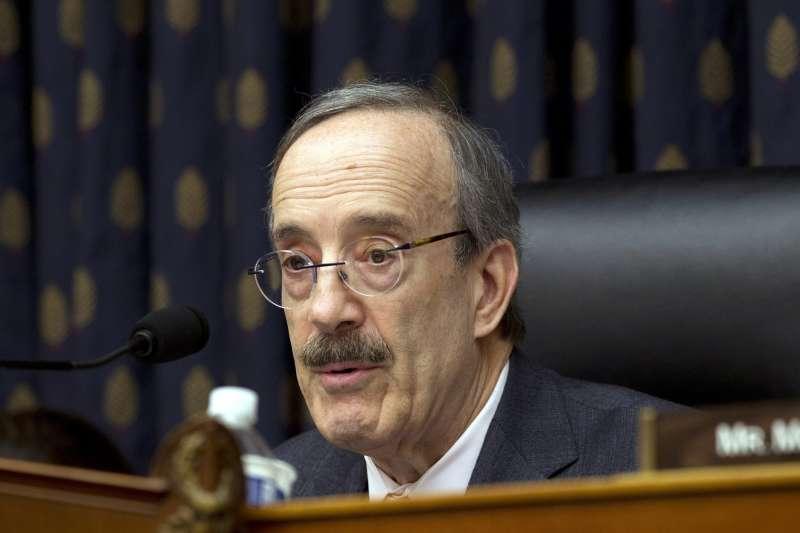 眾議院外交委員會主席恩格爾(Eliot Engel)。(AP)