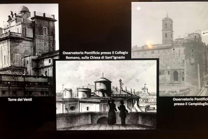 過去聖座在羅馬的天文台。(梵蒂岡天文台提供)