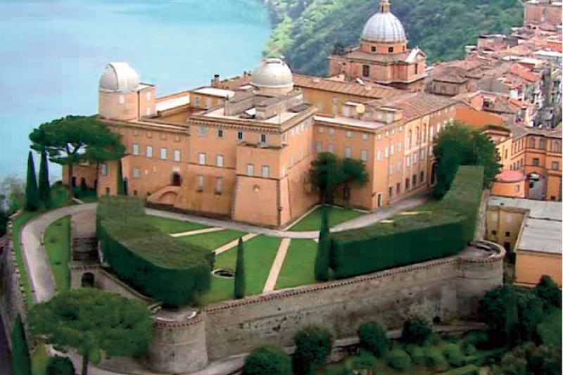 岡道爾夫堡的梵蒂岡天文台。(梵蒂岡天文台提供)