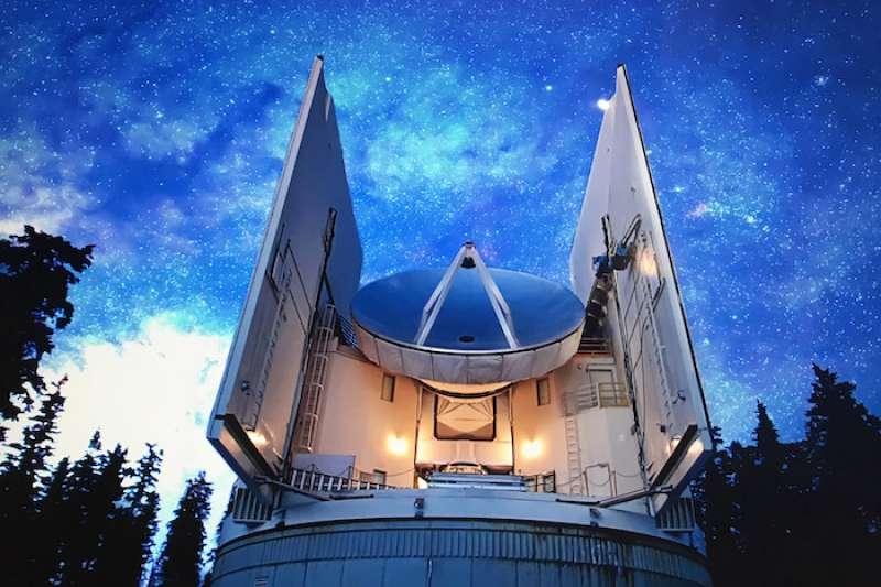 圖森公園格雷厄姆山上的梵蒂岡天文台。(梵蒂岡天文台提供)
