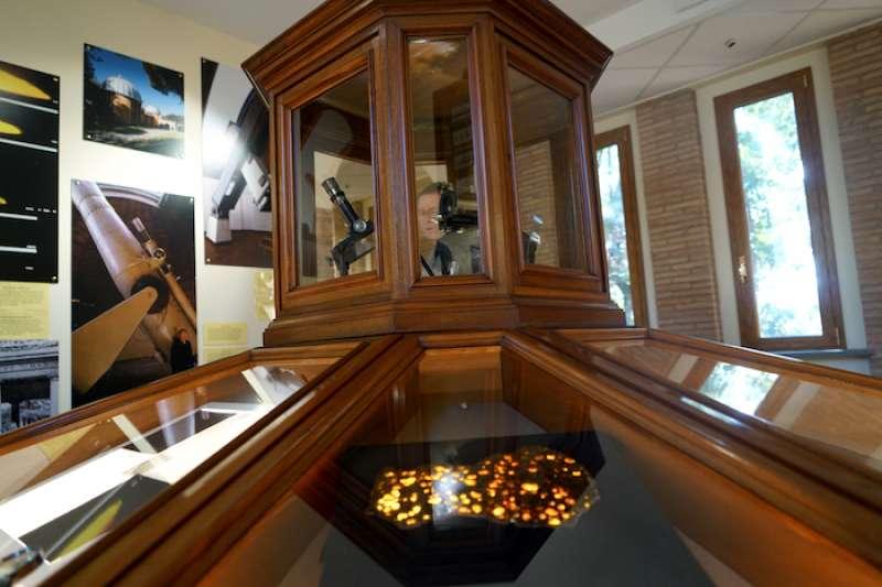 梵蒂岡天文台小型博物館一景。(曾廣儀攝)