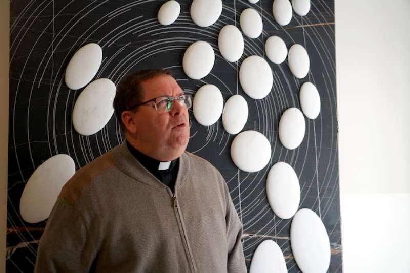 天主教對科學研究的關注與重視。(曾廣儀攝)