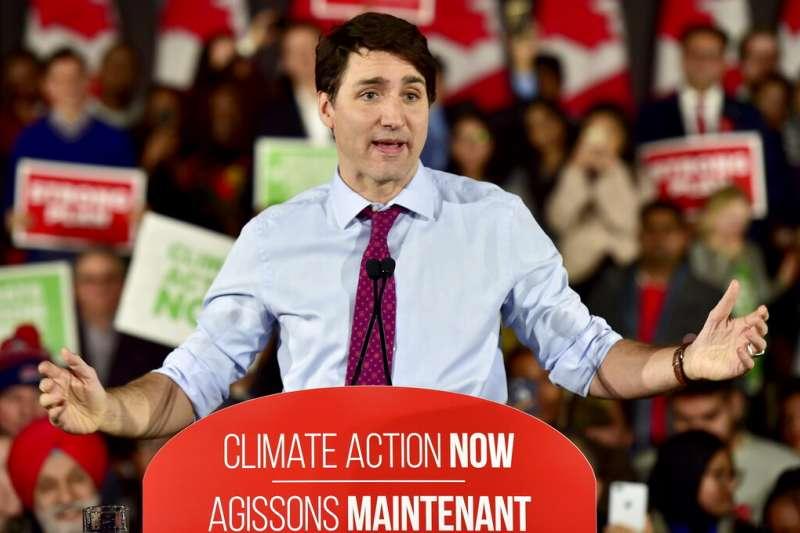 加拿大總理杜魯道。(AP)