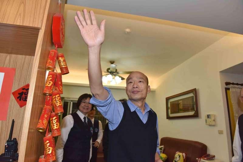 高雄市長韓國瑜聚全台民意於一身。(高雄市政府提供)