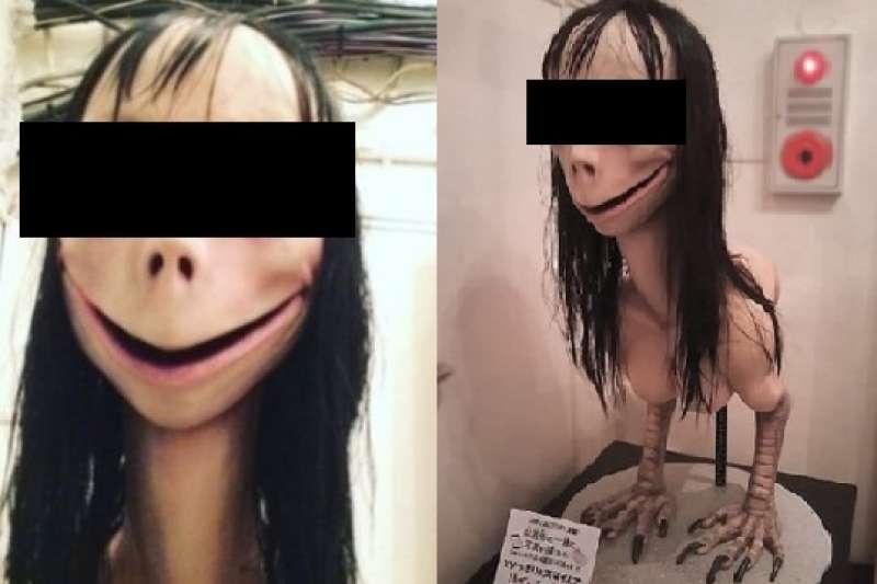 近期在社群網站廣為流傳的「Momo挑戰」真的害一堆兒童自殺嗎?背後有什麼目的呢?(圖/取自youtube)