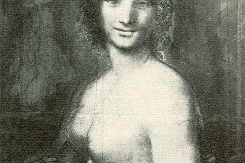 達文西素描肖像《蒙娜瓦納》(Monna Vanna)。(School of Leonardo da Vinçi - Aiwaz@wikipedia/public domain)