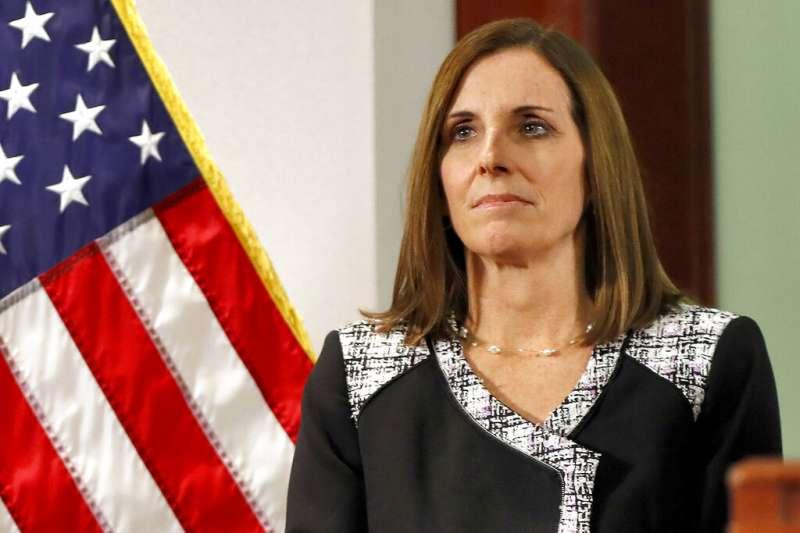 美國亞利桑那州共和黨籍參議員麥克莎莉。(AP)