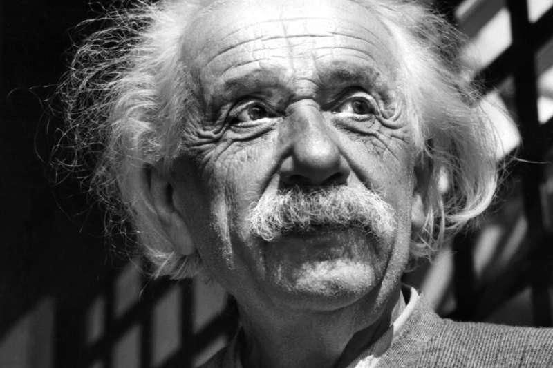 愛因斯坦。(美聯社)