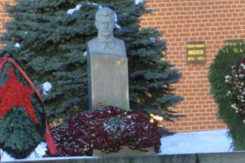 莫斯科紅場上的史達林墓。(美國之音)
