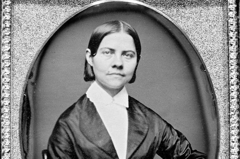約莫是1840年至1860年的露西.史東(Wikipedia/Public Domain)