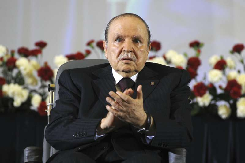 阿爾及利亞年老體衰的總統布特佛利卡(Abdelaziz Bouteflika)(AP)