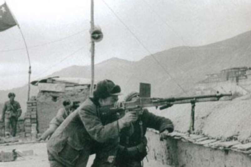 1959年初拉薩局勢已經非常緊張(VOA)