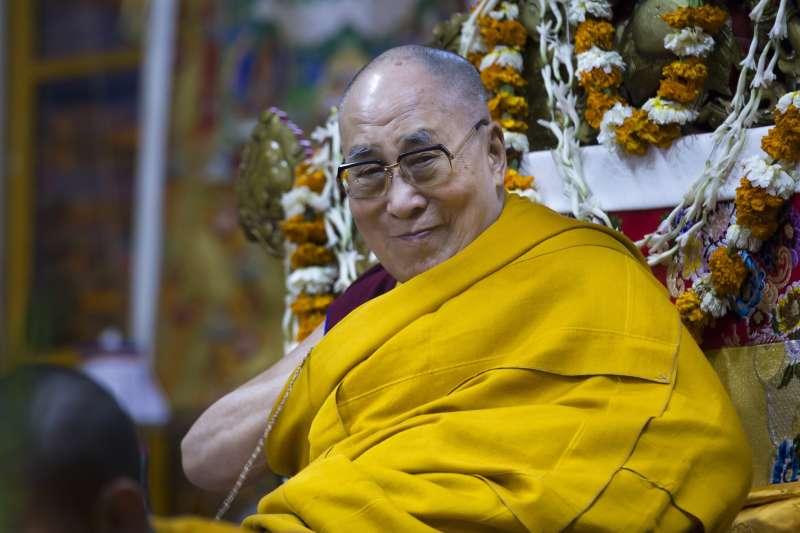 西藏最高精神領袖達賴喇嘛(AP)