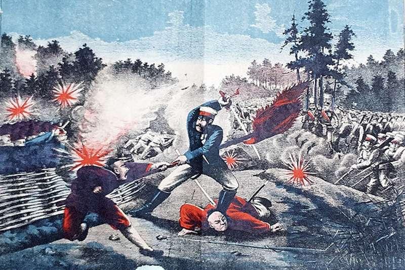 台灣割讓給日本後,武力抗爭長達20年不間斷。(圖/維基百科)