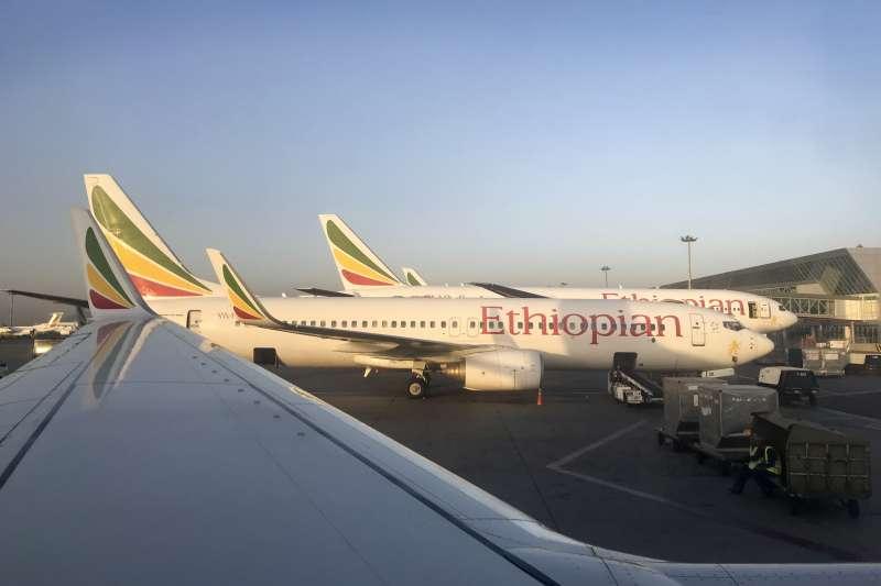 衣索比亞航空一架波音737 MAX 8客機10日發生空難後,中國要求國內航空公司停飛波音737 MAX機型的飛機。(美聯社)