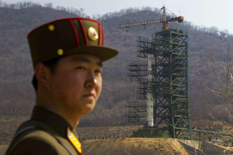 東倉里在2012年曾發射「銀河3號」火箭,將一枚衛星送入軌道,除了驗證長程飛彈技術,也標誌著朝鮮半島首次具備進入太空的能力。(美聯社資料照)