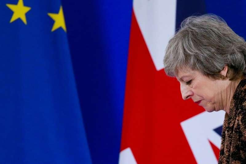 英國首相梅伊與歐盟達成的脫歐協議,周二(3月12日)將再次在議會闖關。(BBC中文網)