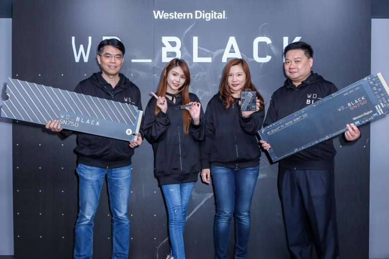Western Digital新品推出第二代高效能WD Black SN750 NVMe SSD
