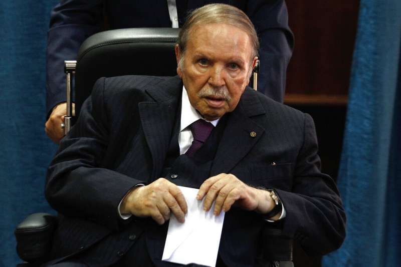 阿爾及利亞總統布特佛利卡。(美聯社)